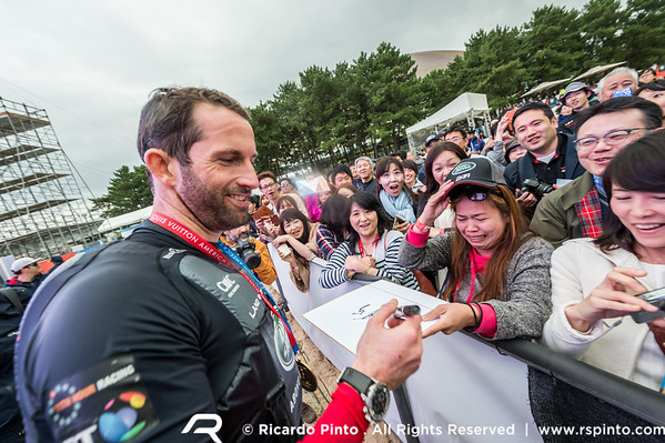 Awards Ceremony - Racing Day 2 of Louis Vuitton America's Cup World Series Fukuoka