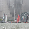 Practice Day 0 of Louis Vuitton America's Cup World Series New York