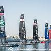 Practice Day 0 of Louis Vuitton America's Cup World Series Oman