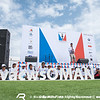 Dock Out Show - Racing Day 1 of Louis Vuitton America's Cup World Series Oman