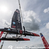 Setup Day -1 of Louis Vuitton America's Cup World Series Portsmouth