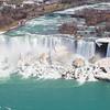 A high angle view of the American Falls (Niagara Falls)