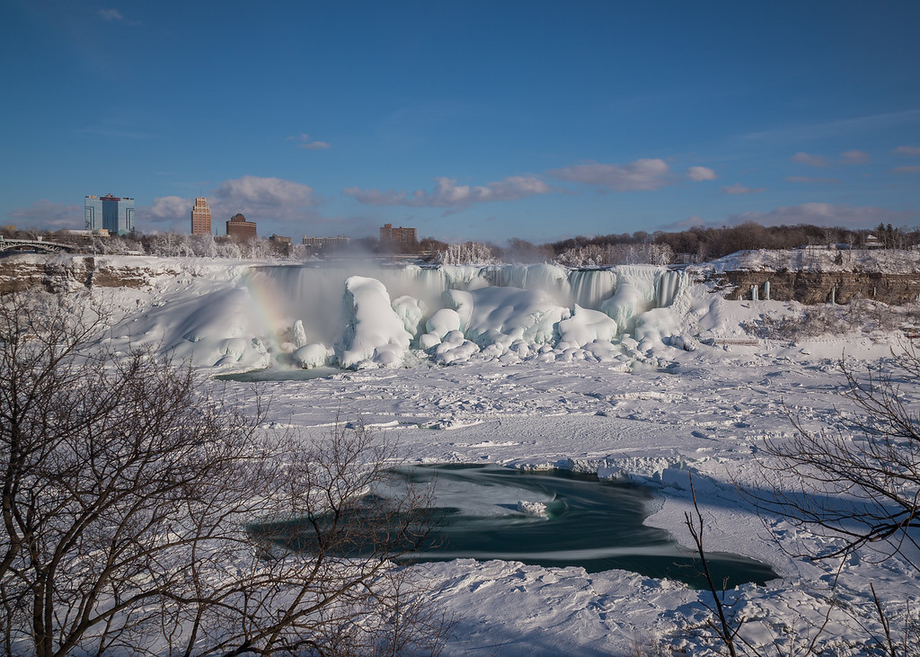 American Falls in the Winter