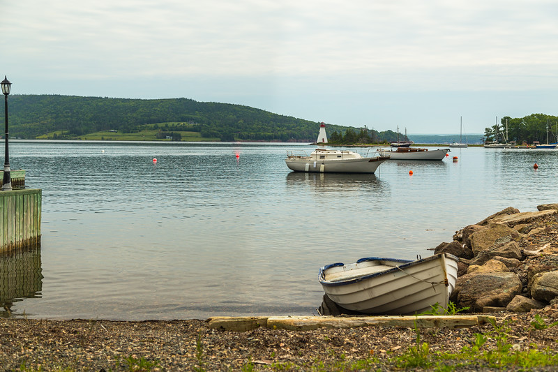 Boats at the Baddeck Waterfront