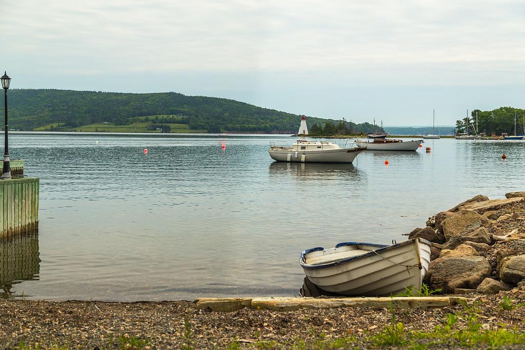 Boats at the Baddeck Waterfront