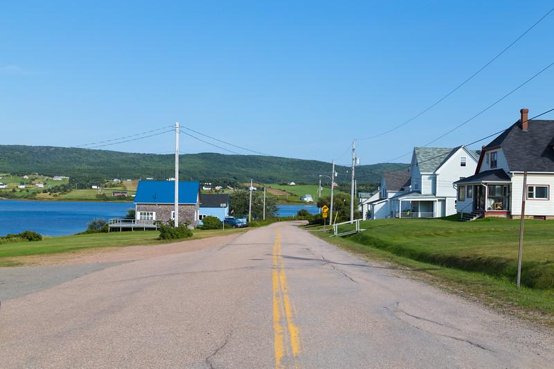 Buildings in Margaree Habour Nova Scotia