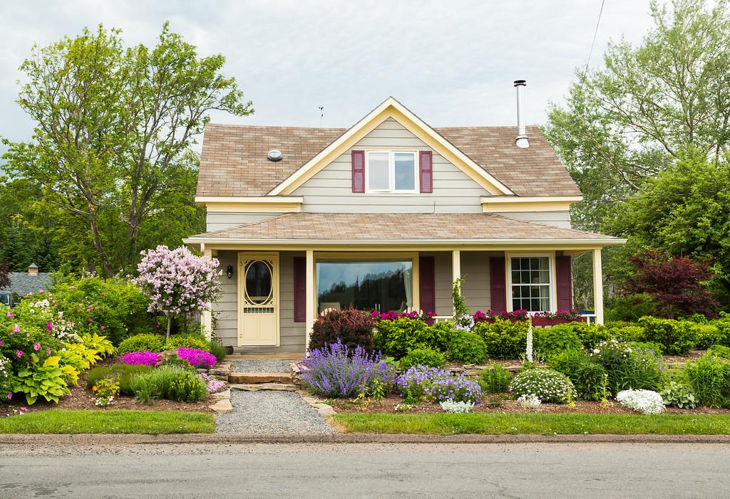 House in Baddeck, Nova Scotia