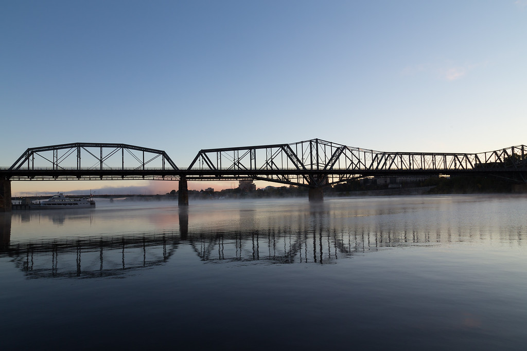 Alexandra Bridge in Ottawa