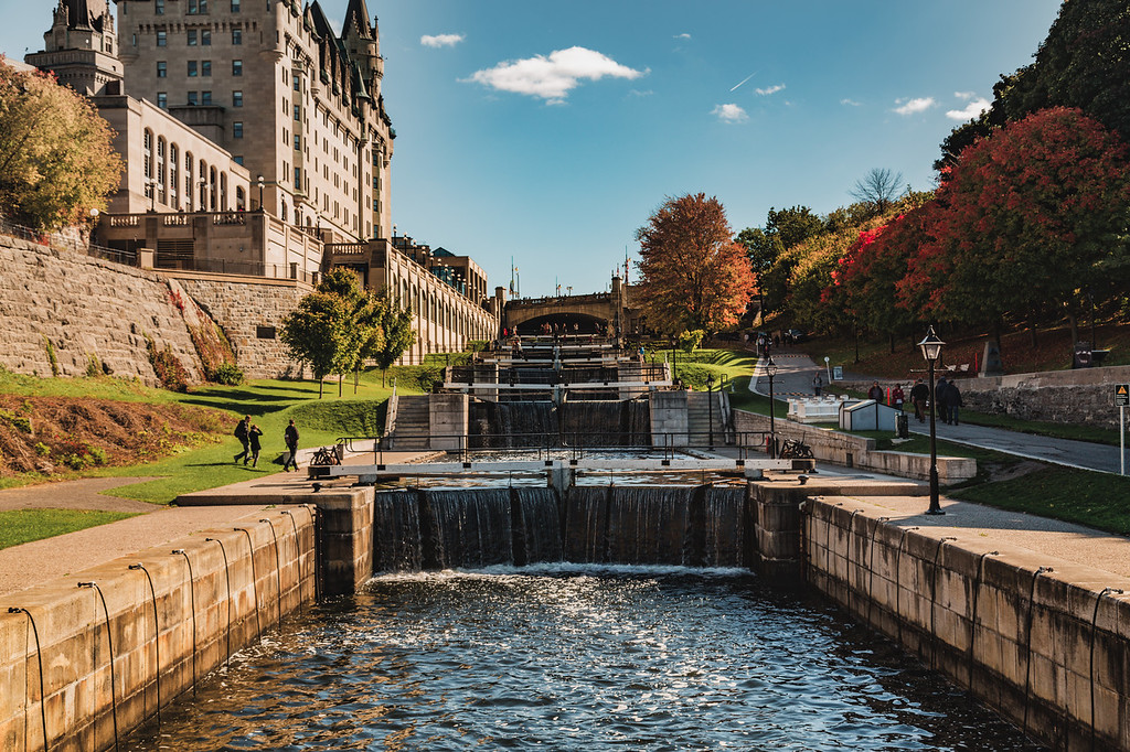 Canals in Ottawa During the Fall