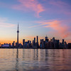 Toronto Colorful Sunset