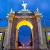 The CNE Arch in Toronto