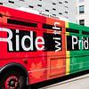 Colorful TTC Bus