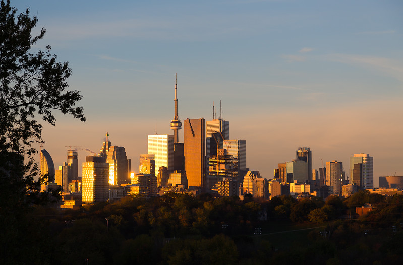 Toronto Downtown at Sunrise