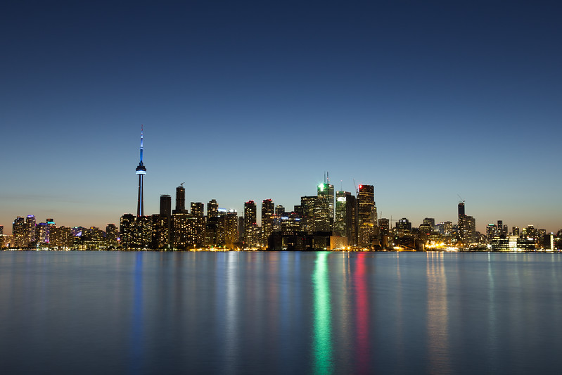 Toronto Cityscape at Dusk