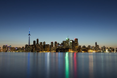 Toronto Cityscape at Dusk