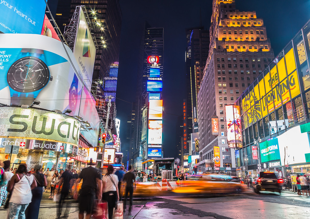 Time Square at Dusk