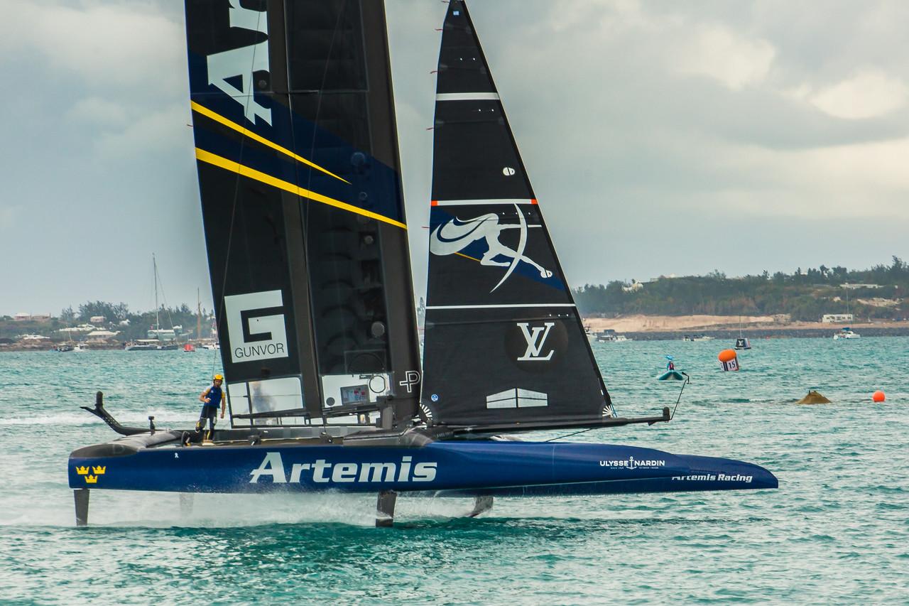 artemis racing wins