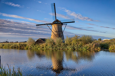 Kinderdijk Netherlands - Windmills-19