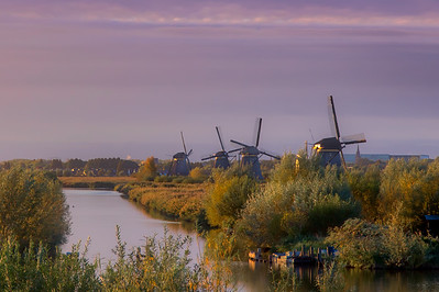 Kinderdijk Netherlands - Windmills-5