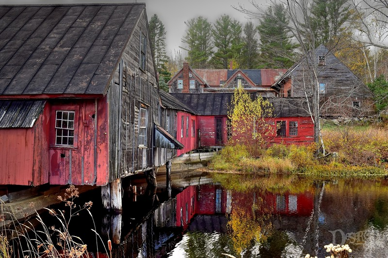 Abandoned Maine Casket Factory