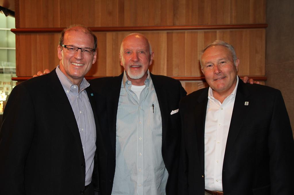 Jonathan Reckford, Mark Victor Hansen, Jason Barlow