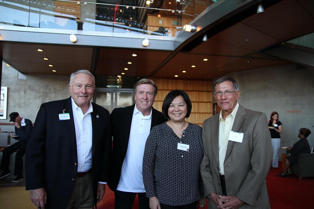 Jason Barlow, Dick and Connie Luebke, Joe Genovese