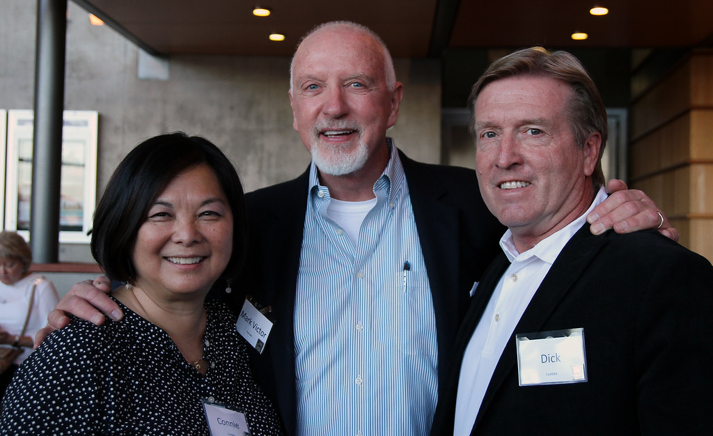 Mark Victor Hansen with Dick and Connie Luebke