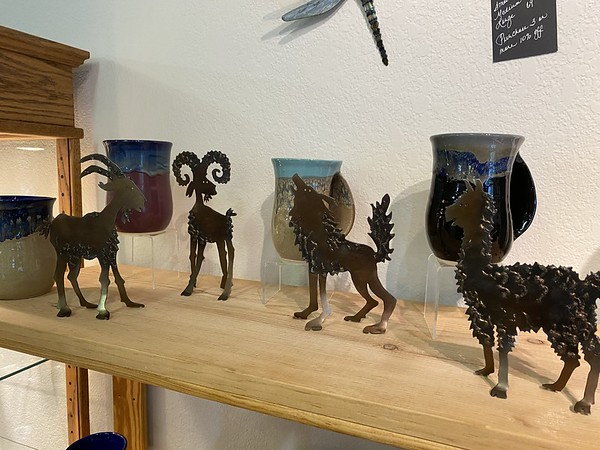 New! Hand Crafted, Flame Cut Steel Animals