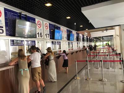 Angkor Wat Ticket Office Lines