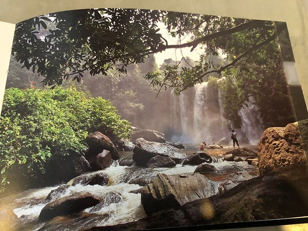 I saw this picture of Kulen Mountain Waterfall on the wall of my hotel room foreshadowing my own trip to come and photos to capture!