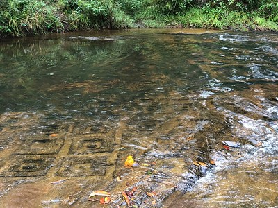 One of many images of Kbal Spaen or River of 1000 Lingas