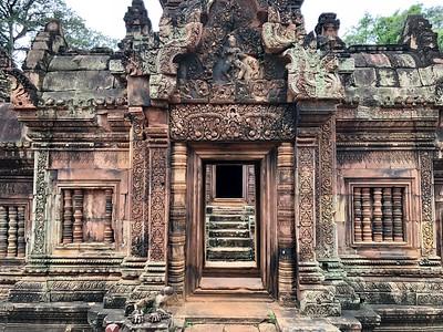 Doorways within Banteay Srei