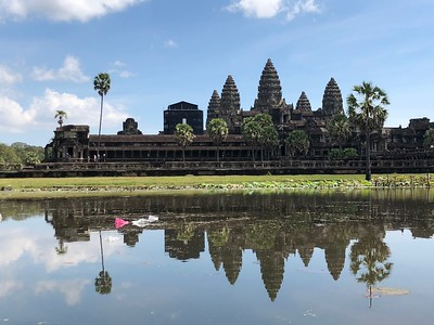 Angkor Wat from The Reflection Pond