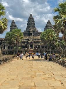 Avenue of Angkor Portrait