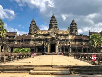 Angkor Wat Main Entrance