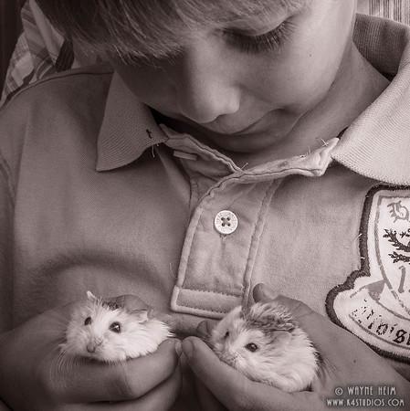 Twins -- Black & White Photography by Wayne Heim