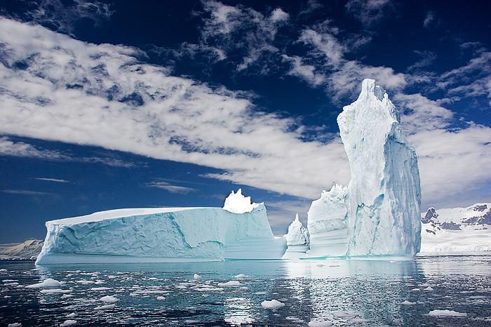 Ice Temple. Antartica. John Chapman.