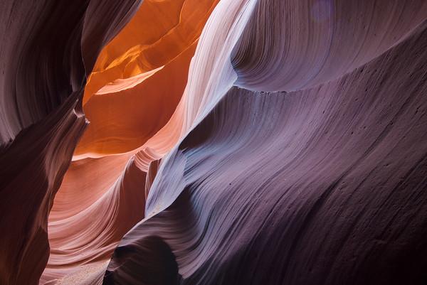 Antelope Canyon, Slot Canyons, Page, Arizona