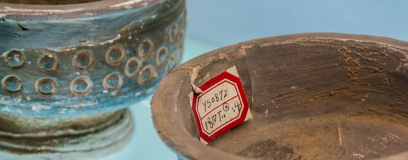 Pots found in excavation sector Area IV (Yanshi Bowuguan, Yanshi, Henan, CN - 10/29/13, 8:50:13 AM)