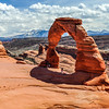 Delicate Arch & the La Sal Mountains