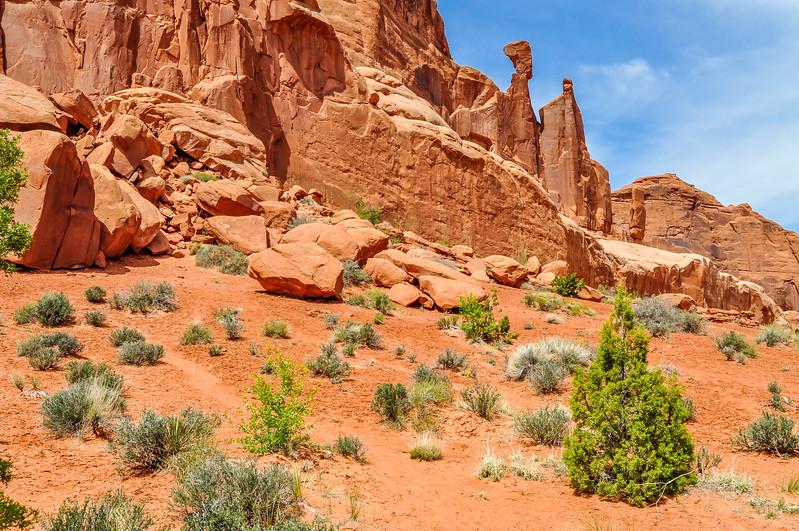 Red Sandstone Cliffs