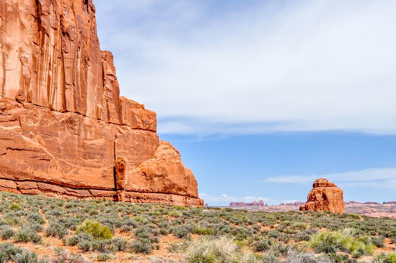 Towering Rock & Desert Vista
