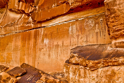 Courthouse Wash Petroglyphs