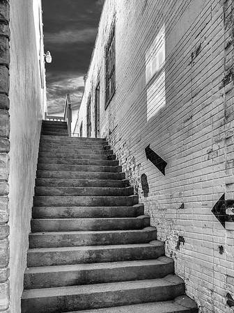 Hot Springs stairway