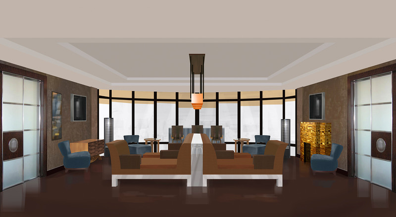INTERIOR DESIGN RENDERING | Photoshop<br /> Client: Cheryl Gardner Interior Design