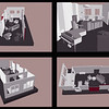 INTERIOR DESIGN LAYOUT | SketchUp<br /> Client: Cheryl Gardner Interior Design
