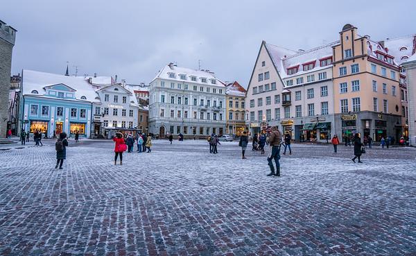 Snowy Tallinn