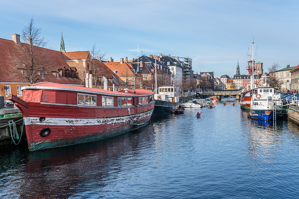 Boats on Nyhavn