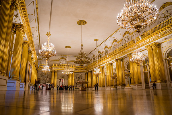 Gold Room in the Hermitage - St. Petersburg, Russia