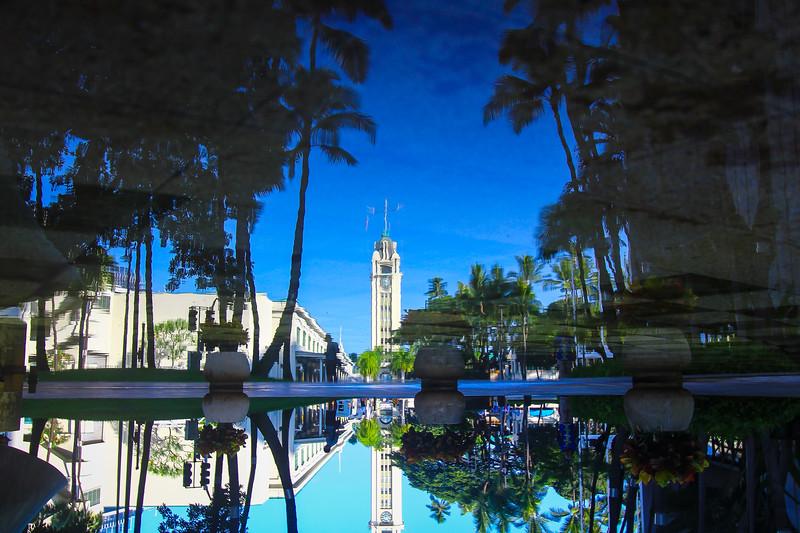 Reflecting Aloha